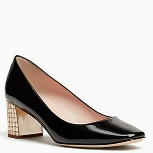 Kate spade danika too block kitten heel